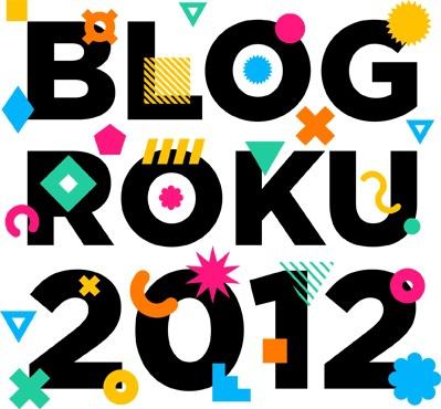 Zagłosuj na mój blog w konkursie Blog Roku 2012