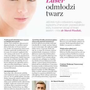 Wywiad we Wprost o laseroterapii