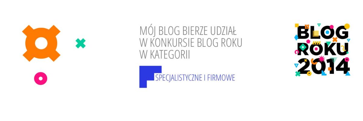 Blog Roku 2014 - zagłosuj