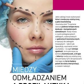 Lekarz medycyny estetycznej a kosmetolog – podział kompetencji