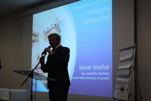 Wykład o bezpieczeństwie w medycynie estetycznej (fot.arch. własne)