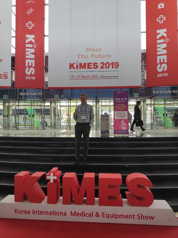 KIMES to targi medyczne, na których połowę ekspozycji zajmują nowości z medycyny estetycznej (fot. Kamila Wasiluk)