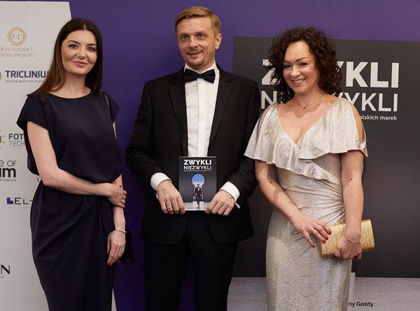 Od lewej: Magdalena Najbar, Marek Wasiluk, Kamila Wasiluk (fot. materiały prasowe)