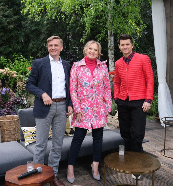 Pytanie na śniadanie. Marek Wasiluk,Marzena Rogalska, Tomasz Kammel (fot. Kamila Wasiluk)