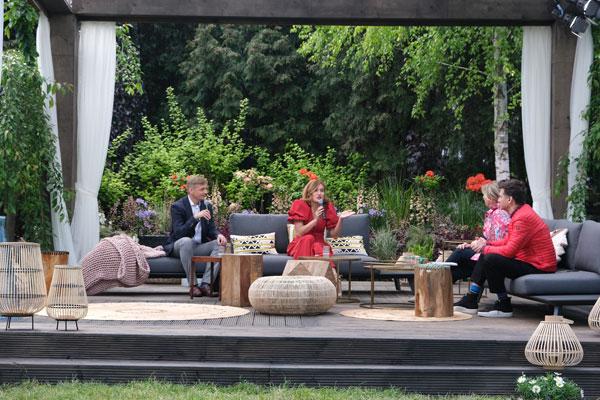 Pytanie na śniadanie. Marek Wasiluk, Marta Siniło, Marzena Rogalska, Tomasz Kammel (fot. Kamila Wasiluk)