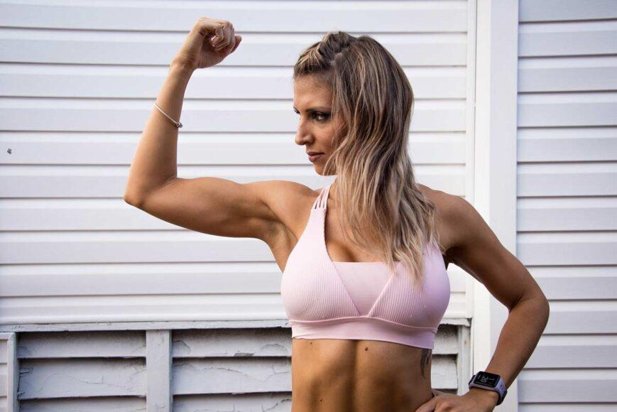 Smukłe ramiona ćwiczenia